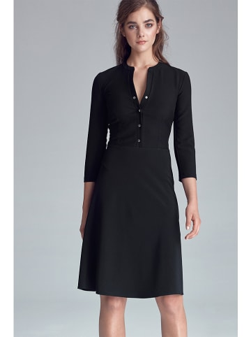 Nife Kleid in Schwarz