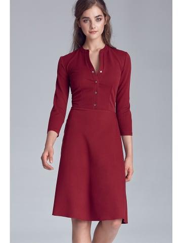 Nife Sukienka w kolorze bordowym