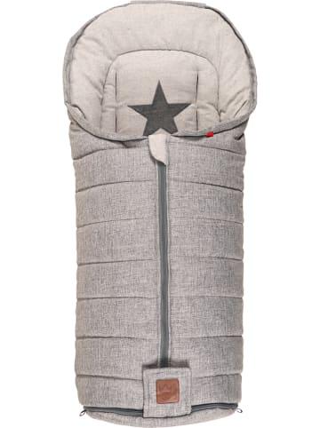 """Kaiser Naturfellprodukte Śpiworek termiczny """"Shinny"""" w kolorze szarym - 100 x 45 cm"""