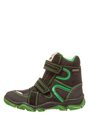 Pio Boots in Schwarz/ Grün