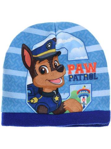 """Paw Patrol Czapka beanie """"Paw Patrol"""" w kolorze niebieskim"""