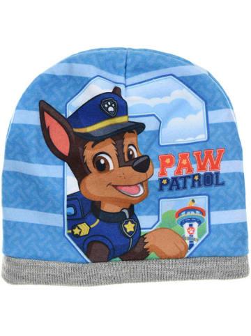 """Paw Patrol Czapka beanie """"Paw Patrol"""" w kolorze szaro-błękitnym"""