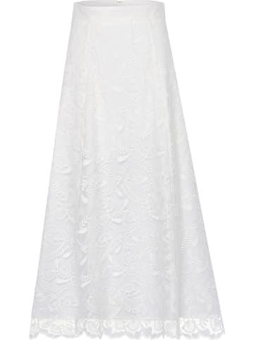 IVY & OAK Spódnica w kolorze białym