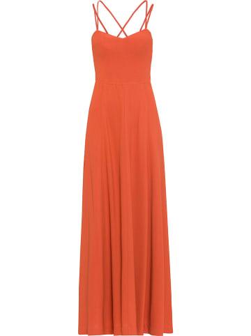 IVY & OAK Sukienka w kolorze pomarańczowym