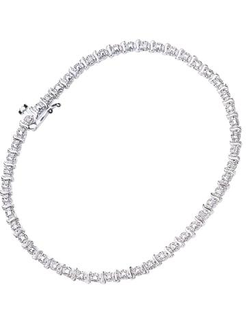 Revoni Witgouden armband met diamanten