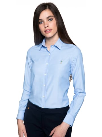 Polo Club Blouse lichtblauw