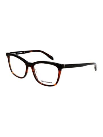 """Karl Lagerfeld Oprawki """"KL888"""" w kolorze czarno-brązowym"""