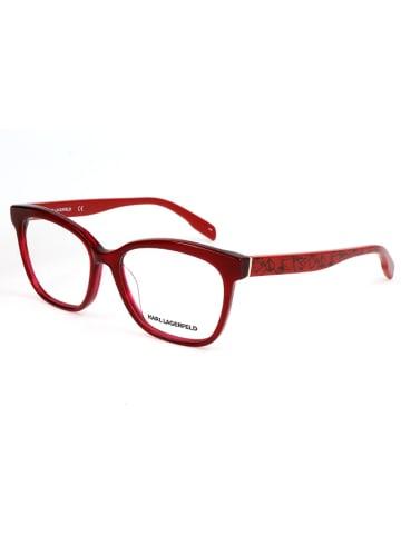 Karl Lagerfeld Oprawki w kolorze czerwonym