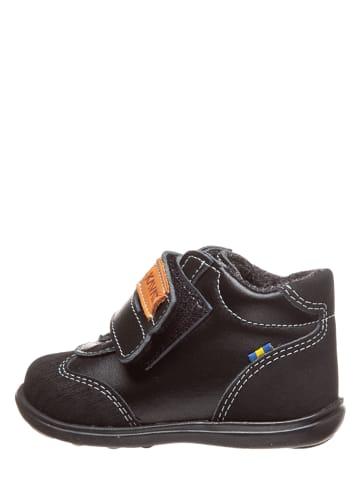 """KAVAT Skórzane sneakersy """"Skalby"""" w kolorze czarnym"""