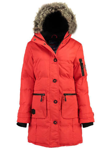 "Canadian Peak Wintermantel ""Axelus"" in Rot"