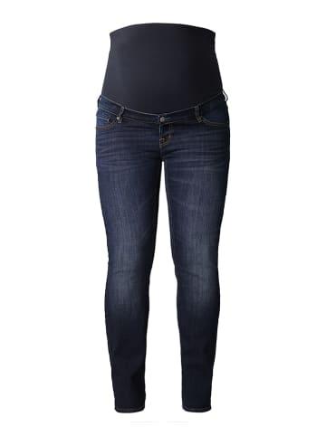 Noppies Dżinsy ciążowe - Slim fit - w kolorze granatowym