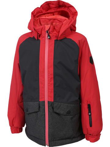 """Color Kids Ski-/ Snowboardjacke """"Diana"""" in Schwarz/ Rot"""