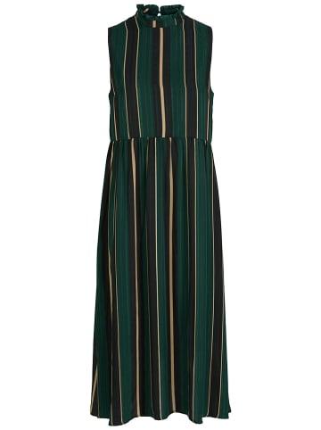 Y.A.S Sukienka w kolorze ciemnozielono-beżowym