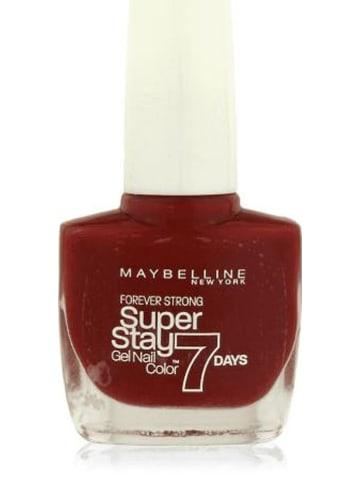 """Maybelline Gelnagellak """"Super Stay 7 Days - 06 Deep Red"""", 10 ml"""