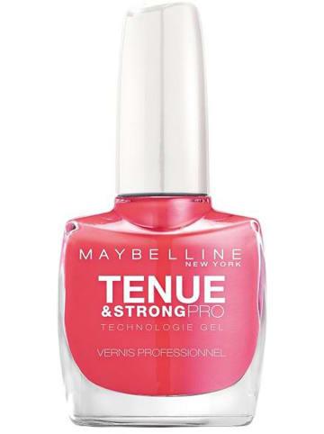 """Maybelline Lakier żelowy """"Tenue Strong & Pro Technologie - 170 Flamingo Pink"""" - 10 ml"""