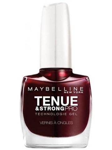 """Maybelline Lakier żelowy """"Tenue Strong & Pro Technologie - 287 Midnight Red"""" - 10 ml"""