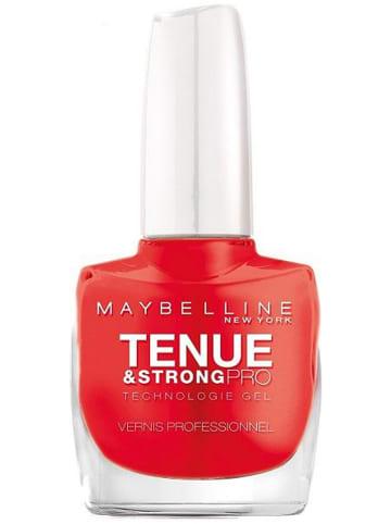 "Maybelline Gel-Nagellack ""Tenue & Strong Pro - 493 Blood Orange"", 10 ml"
