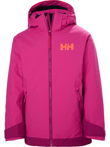 """Helly Hansen Kurtka narciarska """"Hillside"""" w kolorze różowym"""
