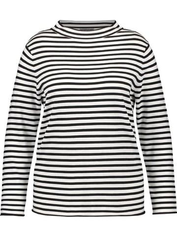 SAMOON Sweter w kolorze biało-czarnym
