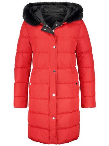 TAIFUN Płaszcz zimowy w kolorze czerwonym