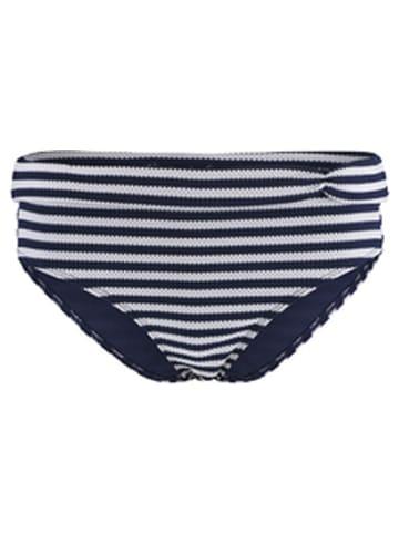 Sapph Bikinislip donkerblauw/wit