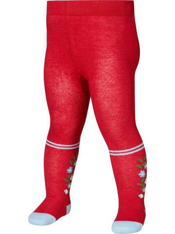 Playshoes Rajstopy w kolorze czerwonym