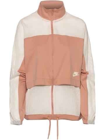 Nike Bluza w kolorze jasnoróżowo-kremowym