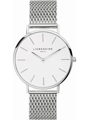 Liebeskind Zegarek kwarcowy w kolorze srebrnym