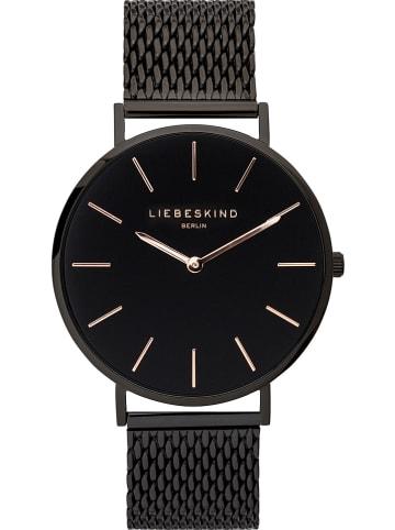 Liebeskind Zegarek kwarcowy w kolorze czarnym