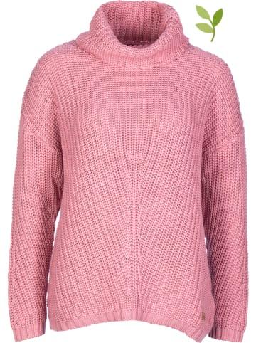 Derbe Sweter w kolorze jasnoróżowym