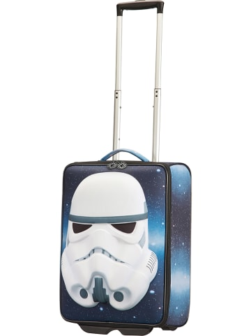 "Samsonite Softcase-Trolley ""Star Wars Ultimate"" in Blau - (B)37,5 x (H)52 x (T)20 cm"