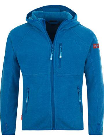 """Trollkids Fleece vest """"Sandefjord"""" blauw"""