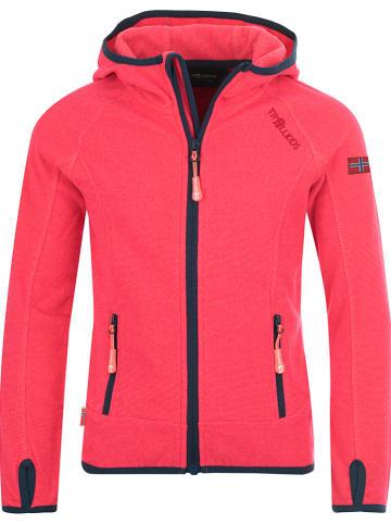 "Trollkids Fleece vest ""Sandefjord"" roze"