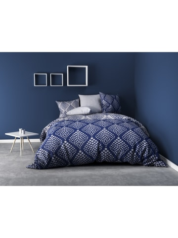 "My Home Beddengoedset ""Fibula"" blauw"