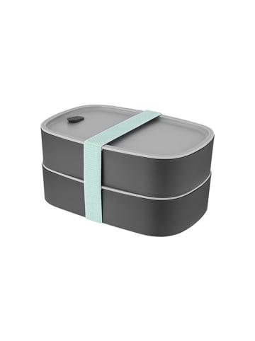 BergHOFF Lunchbox in Grau - (B)19 x (H)12,5 x (T)9 cm