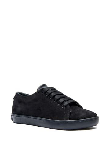 Comfortfusse Skórzane sneakersy w kolorze czarnym
