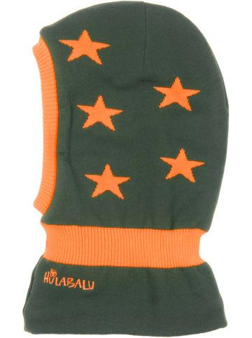 "HULABALU Kominiarka ""Stars"" w kolorze khaki"