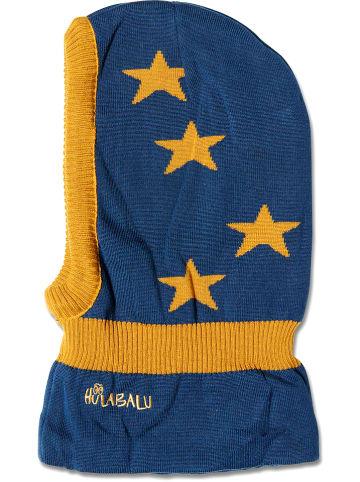 """HULABALU Bivakmuts """"Stars"""" blauw"""