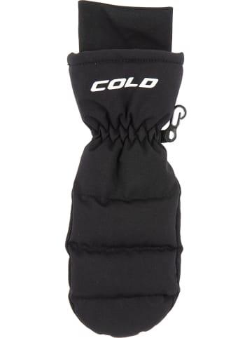 """COLD Rękawiczki """"Igloo"""" w kolorze czarnym"""