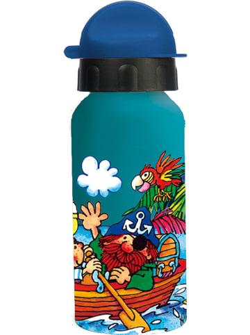"""Lutz Mauder Trinkflasche """"Pit Planke"""" in Blau/ Bunt - 400 ml"""