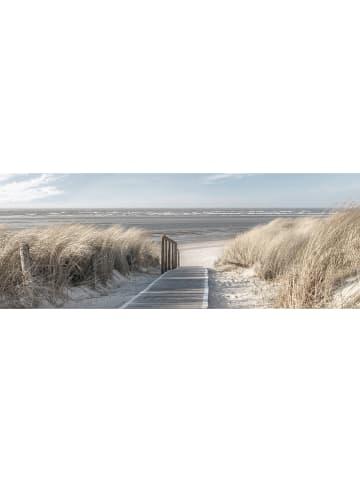 "Orangewallz Kunstdruk op canvas ""Dunes Feel the Breeze"" - (B)80 x (H)30 cm"