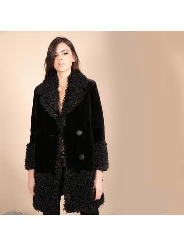Chattawak Płaszcz w kolorze czarnym