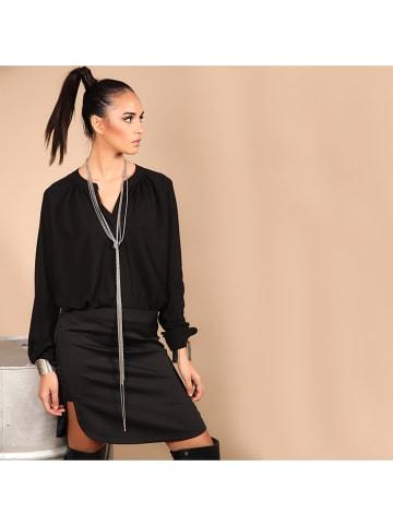 Chattawak Kleid in Schwarz