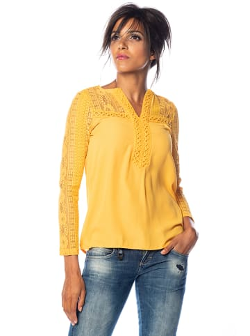 "Saint Germain Paris Bluzka ""Sacha"" w kolorze żółtym"