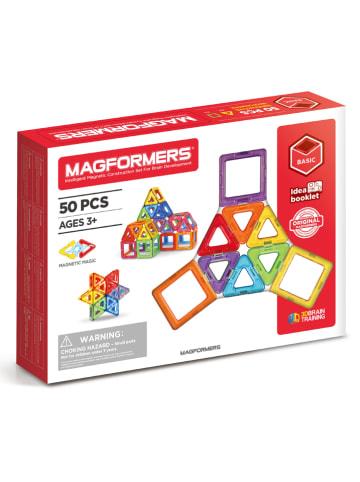 """MAGFORMERS 50-delige magneetspeelset """"Basic Set Line"""" - vanaf 3 jaar"""