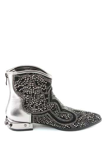 Foreverfolie Boots in Silber
