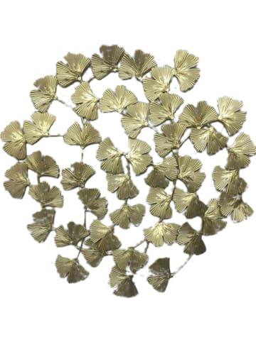 Rétro Chic Wanddecoratie goudkleurig - (D)0,5 x Ø 48,5 cm