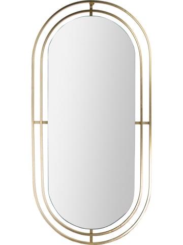 Ethnical Life Wandspiegel in Gold/ Schwarz - (B)43,3 x (H)89,5 x (T)1,1 cm