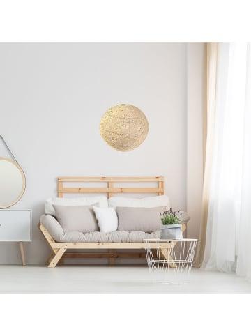 THE HOME DECO FACTORY Lampenschirm in Beige - Ø 30 cm