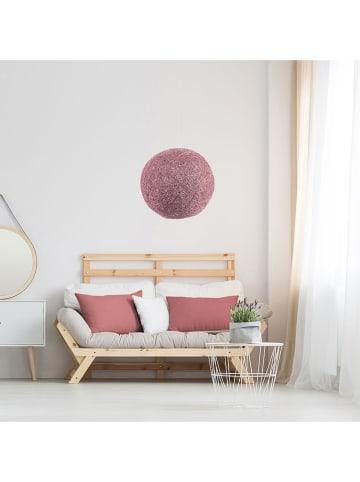 THE HOME DECO FACTORY Lampenkap lichtroze - Ø 30 cm